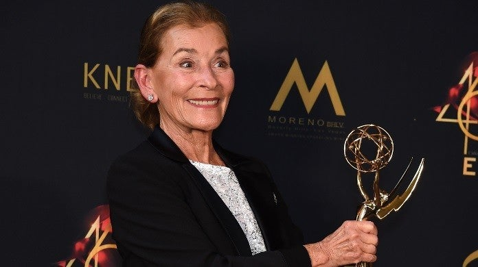 judge judy emmys getty images