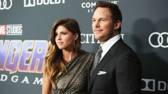 katherine schwarzenegger chris pratt getty images