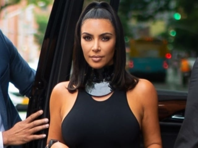Kim Kardashian's Curvy Bikini Photo Sparks Bizarre Reaction From Fans