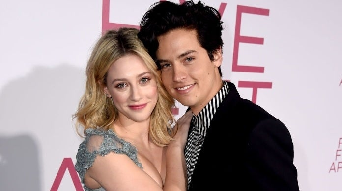lili reinhart cole sprouse getty images