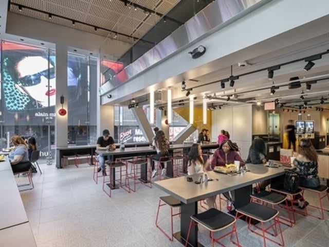 Peek Inside McDonald's Stunning Times Square Flagship, Featuring Table Service and Glass Walls