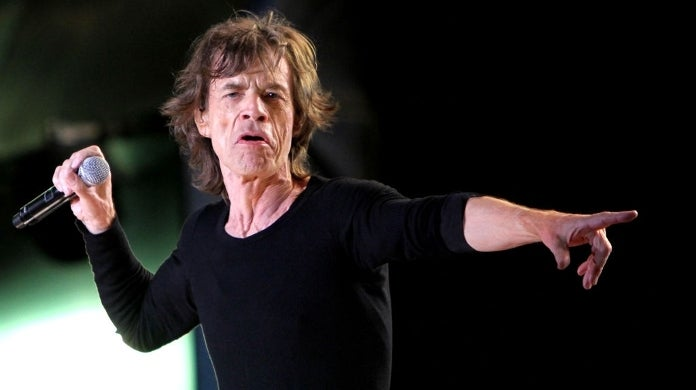 mick jagger getty images