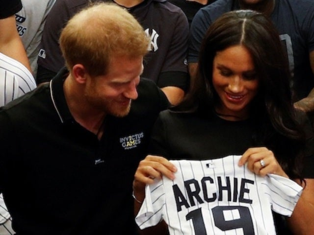 Meghan Markle and Prince Harry Make Surprise Appearance During Red Sox-Yankees London Series