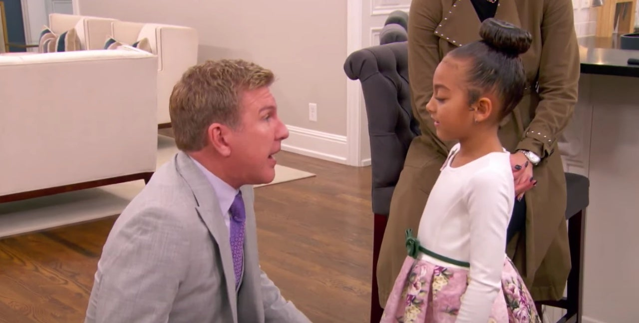 'Chrisley Knows Best': Todd Chrisley Struggles to Teach Granddaughter Chloe About Death After Fish Fiasco