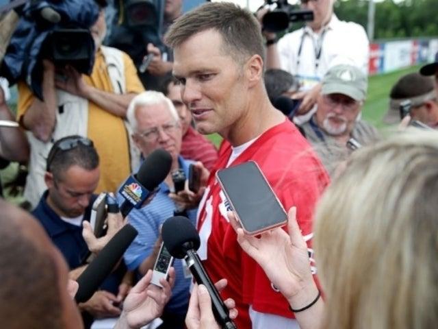 Tom Brady Reveals Photo Proof He Hasn't Lost His QB Skills