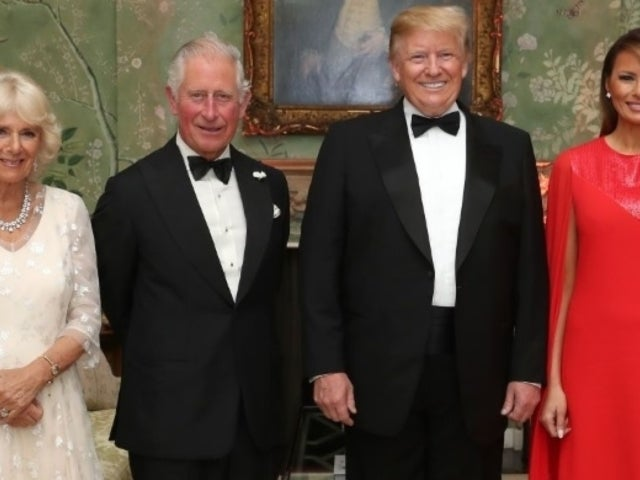 Duchess of Cornwall Camilla Stirs Social Media With Viral Wink Behind President Trump During State Visit