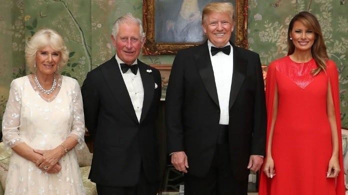 trump prince charles camilla getty images