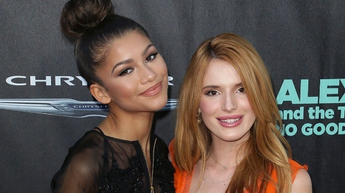 zendaya bella thorne David Livingston