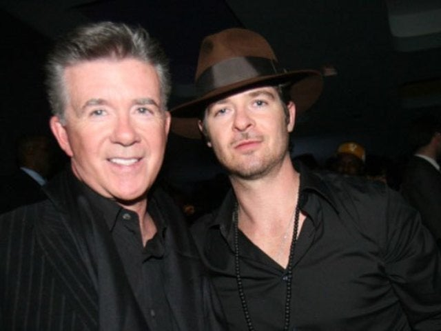 Robin Thicke Reveals FaceApp Old-Age Photo Alongside Late Dad Alan