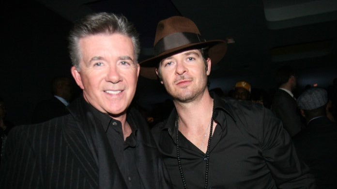 Alan Thicke and Robin Thicke-2