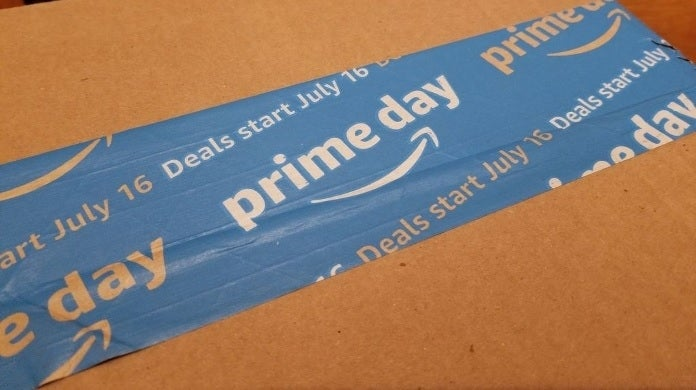 amazon prime day box getty images