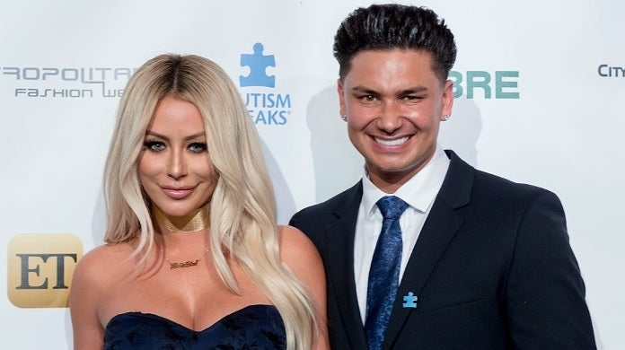 aubrey o'day pauly d getty images