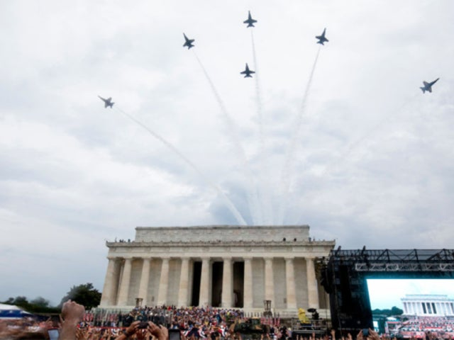 Why the DC Flyover Had Some Viewers Furious and Posting the Videos to Twitter