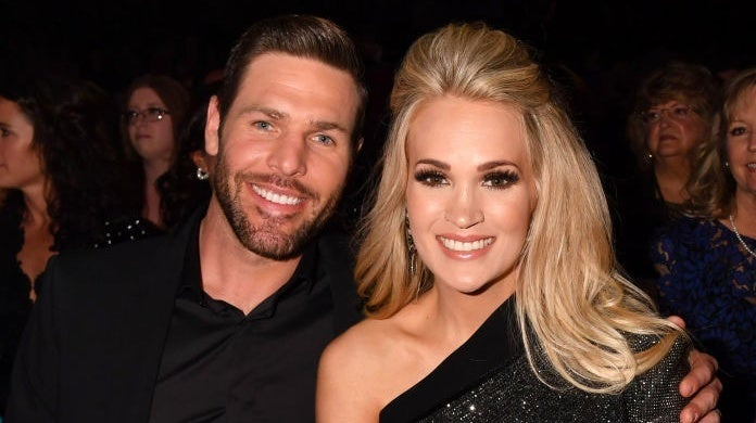 carrie underwood mike fisher Jeff Kravitz_ACMA2019