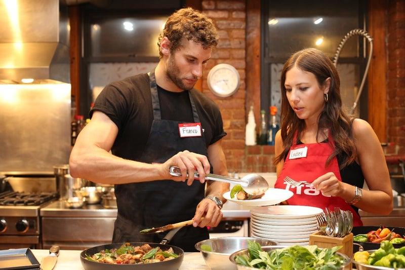 Chef Franco Noriega & Lindsey Metselaar