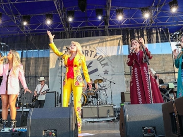 Dolly Parton Boasts About 'Girl Power' After Performing With The Highwomen at Newport Folk Festival