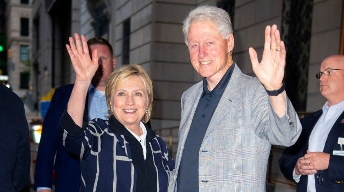 hillary bill clinton getty images