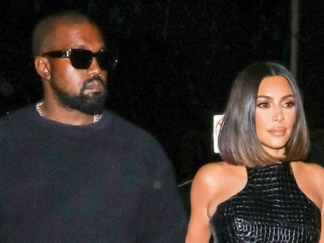 Kim Kardashian Steps out for 'Date Night' With Kanye West in All-Black Look