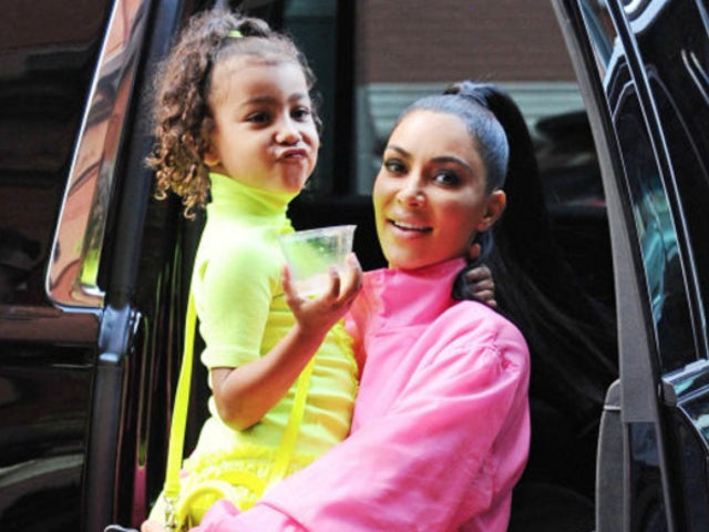 Kim Kardashian Admits Family Is in 'Big Fight' Over North Wearing Makeup