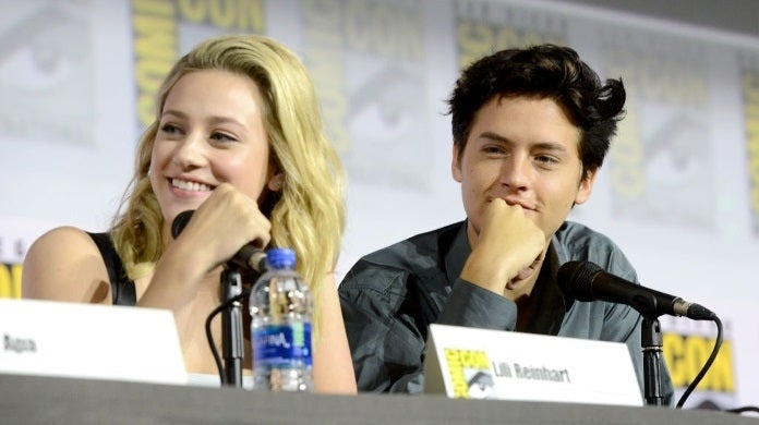 lili reinhart cole sprouse sdcc getty images