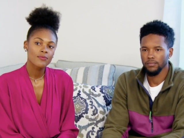 'Married at First Sight': Iris and Keith Discuss Intimacy Concerns After Virginity Reveal in Exclusive Clip