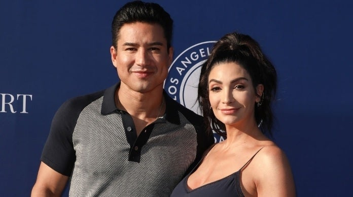 mario lopez courtney getty images