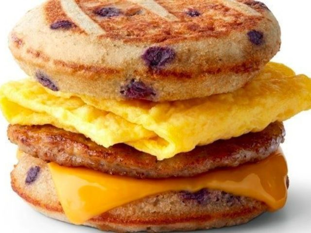 McDonald's Testing out Blueberry McGriddles