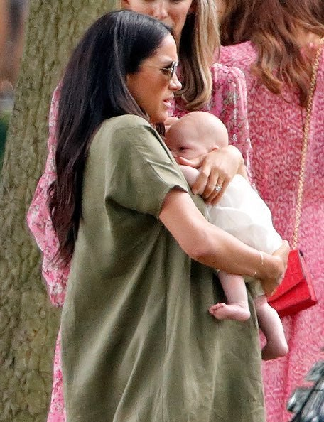 Meghan Markle and Archie 2