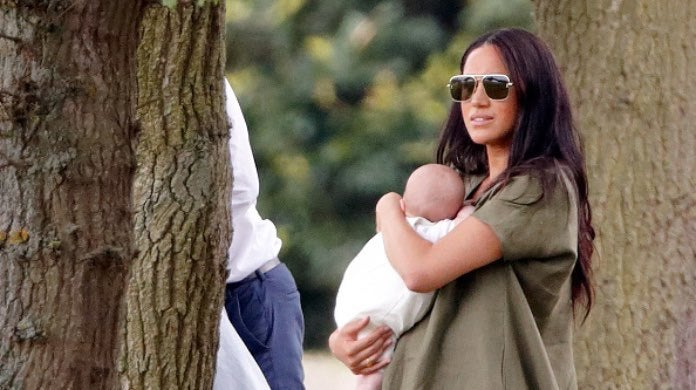 Meghan Markle and Archie-2