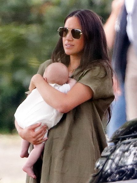 Meghan Markle and Archie 3