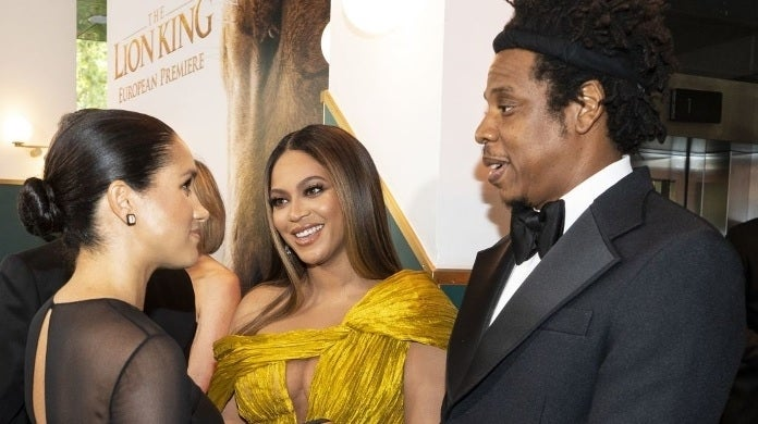 meghan markle beyonce jay z getty images