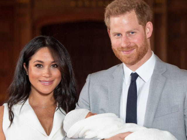 Meghan Markle and Prince Harry's Christening Photo With Baby Archie Has Admirers Swooning