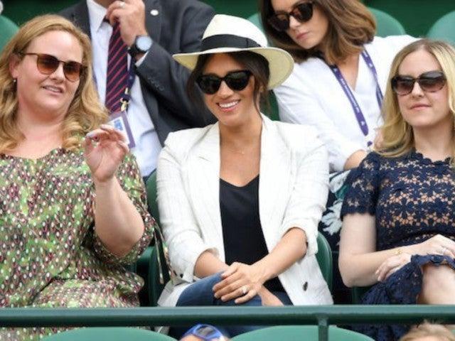 Meghan Markle Ruffles Feathers at Wimbledon