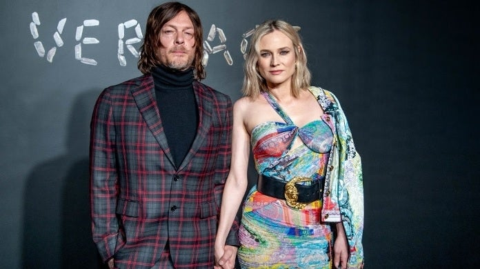 norman reedus diane kruger getty images