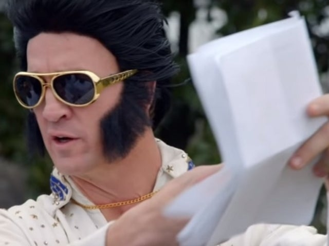 Watch Peyton Manning Dress as Elvis Presley and Throw a Touchdown Pass