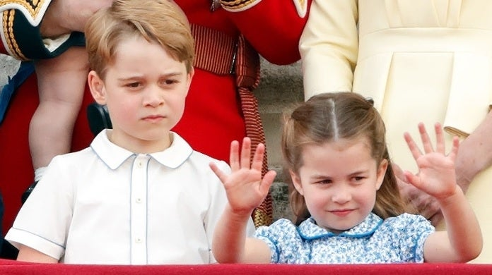 prince george charlotte getty images