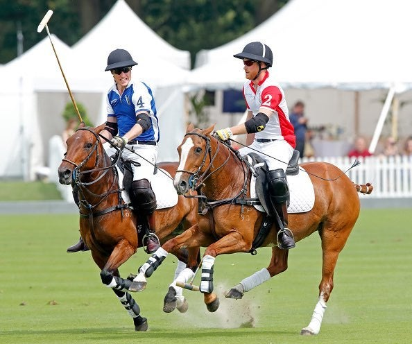 Prince William and Prince Harry Polo Match