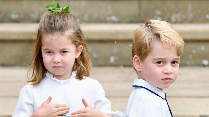 princess charlotte prince george