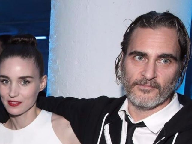 Joaquin Phoenix and Rooney Mara Engaged After 3 Years of Dating