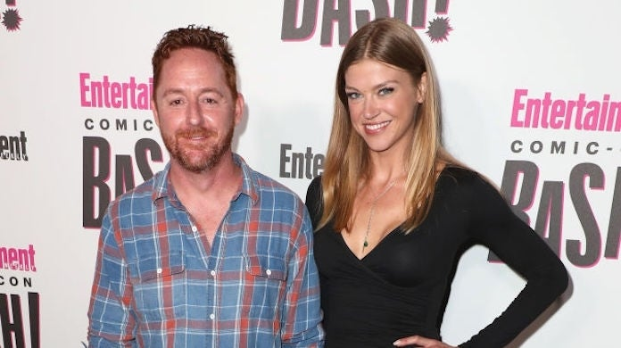 scott-grimes-adrianne-palicki-getty-Joe Scarnici : Stringer