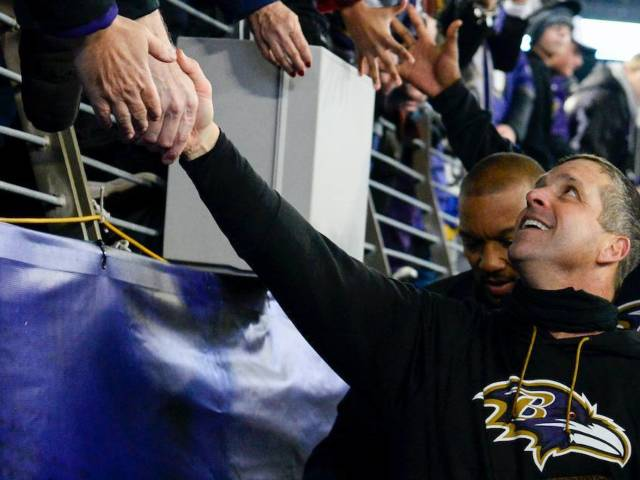 Baltimore Ravens Head Coach John Harbaugh Responds to President Trump's 'Infestation' Comments