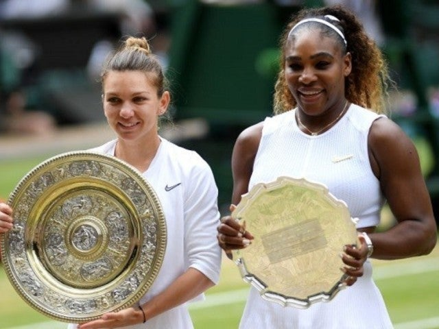 Serena Williams Loses to Simona Halep at Wimbledon, and Fans Can't Believe It