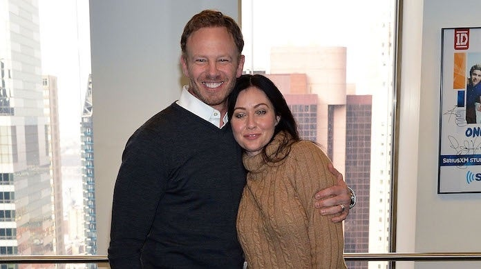shannen-doherty-ian-ziering-getty