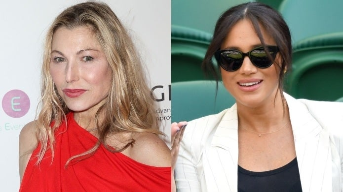 tatum o'neal meghan markle getty images