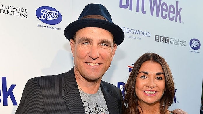 vinnie-jones-tanya-jones_getty-Frazer Harrison : Staff