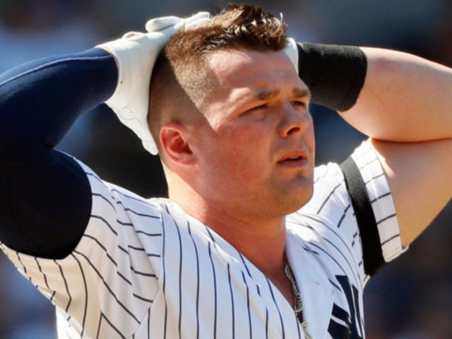 New York Yankees Player Luke Voit Takes 91 mph Fast Ball to the Face, and Social Media Is Stunned