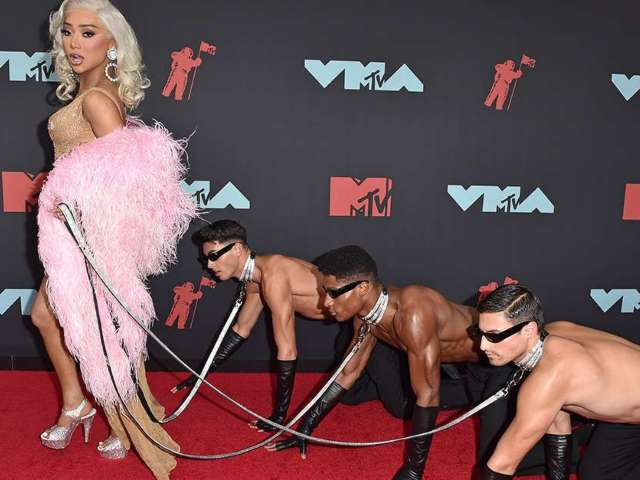 MTV VMAs' Most Shocking Looks of 2019 -- and All Time