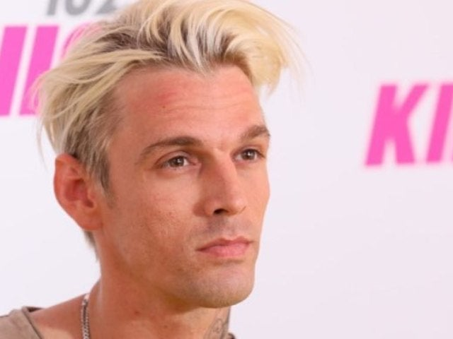 Aaron Carter Gets New Neck Tattoo