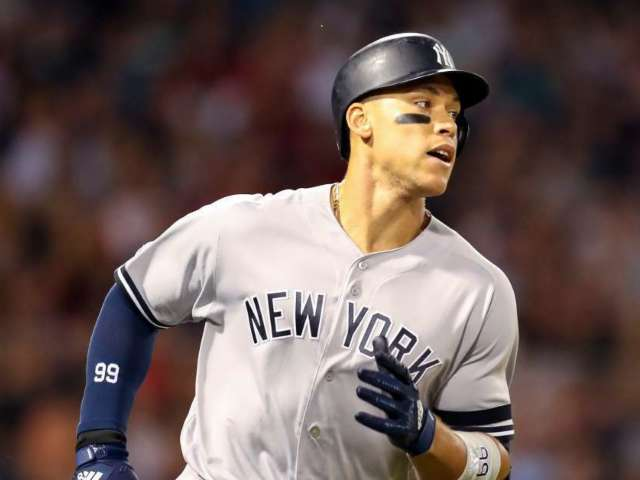 Yankees Slugger Aaron Judge Surprises Kid After Father's Death