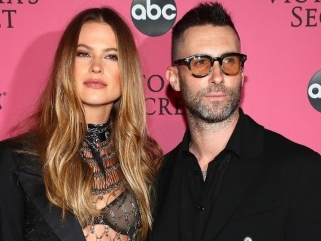 Behati Prinsloo Won't 'Change a Single Thing' About Motherhood in Rare Photo With Daughters Dusty and Gio